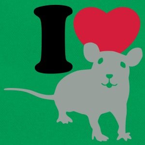 I love rats Shirts - Sac Retro