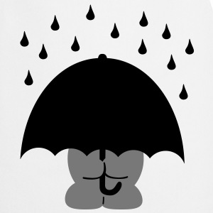 umbrella paraply T-shirts - Forklæde