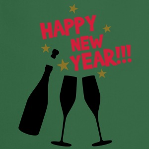 Happy new year T-Shirts - Forklæde