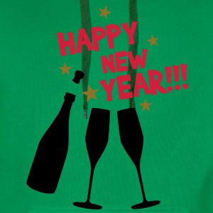 Happy new year T-Shirts - Herre Premium hættetrøje