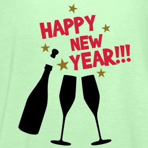 Happy new year T-Shirts - Dame tanktop fra Bella