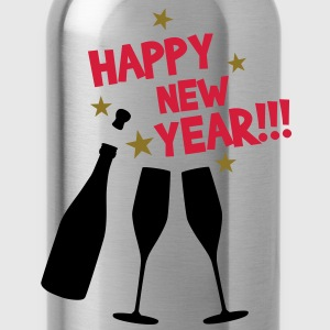 Happy new year T-Shirts - Vattenflaska
