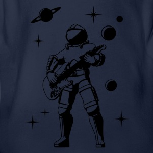 Space Guitar hero Tee shirts - Body bébé bio manches courtes