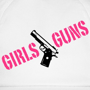 Girls love Guns pistol chicas de pistola c 2. Camisetas - Gorra béisbol