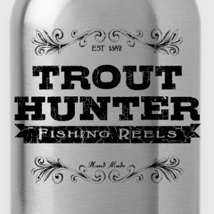 trout hunter T-Shirts - Water Bottle