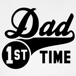 1st (first) TIME Dad T-Shirt BK - Baseballcap