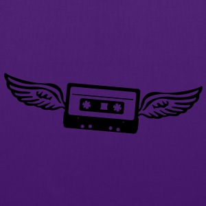 Cassettes angel  T-Shirts - Tote Bag