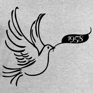 Dove of Peace med år 1958 T-skjorter - Sweatshirts for menn fra Stanley & Stella