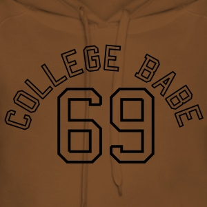 College Babe 69 sexy sex baby  T-shirts - Dame Premium hættetrøje