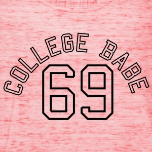 College Babe 69 sexy sex baby  Tee shirts - Débardeur Femme marque Bella