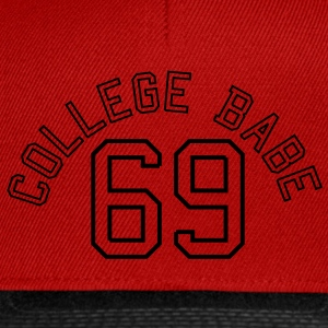 College Babe 69 sexy sex baby  Magliette - Snapback Cap