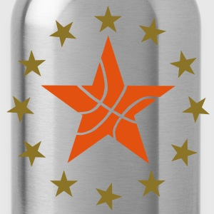 Basketball & Stars T-Shirts - Water Bottle
