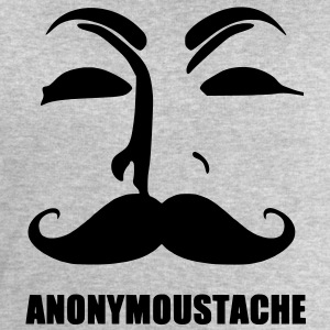 anonymoustache T-Shirts - Men's Sweatshirt by Stanley & Stella