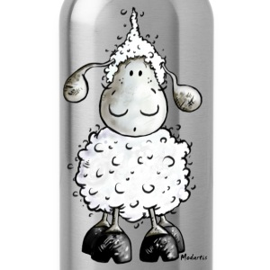 Mc Wool - sheep t-shirt design Shirts - Water Bottle