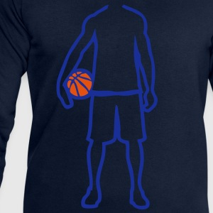 joueur basketball player trace dessin1 Tee shirts - Sweat-shirt Homme Stanley & Stella