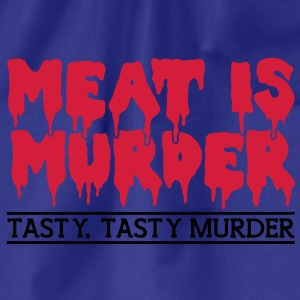 Meat is murder T-skjorter - Gymbag