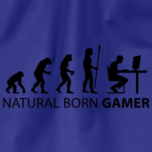 evolution natural born gamer Tee shirts - Sac de sport léger