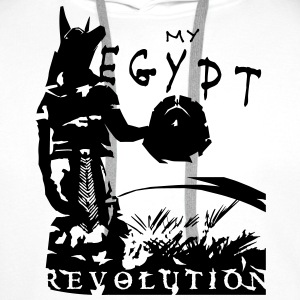 my_egypt_revolution_vec_1 T-Shirts - Men's Premium Hoodie