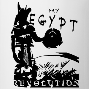 my_egypt_revolution_vec_1 en T-Shirts - Tasse