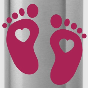 Baby Feet T-Shirts - Trinkflasche