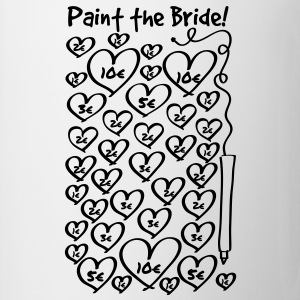 Paint to the bride - hen night T-Shirts - Mug