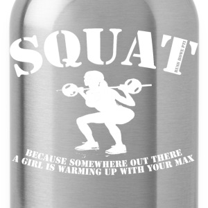 Squat (2) T-Shirts - Water Bottle