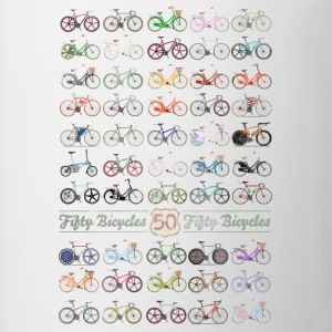 50 Bicycles T-Shirts - Mug