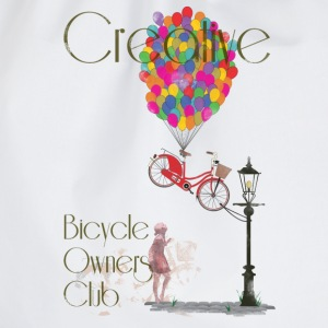 Creative Bicycle Owners Club T-Shirts - Drawstring Bag