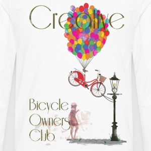 Creative Bicycle Owners Club T-Shirts - Men's Premium Longsleeve Shirt