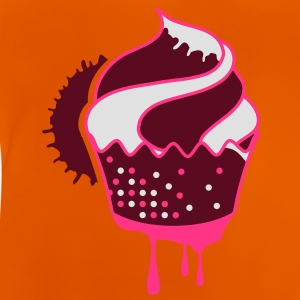 A graffiti cupcake with drops Shirts - Baby T-Shirt
