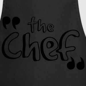 T-shirt BEST SELLER the chef - Tablier de cuisine