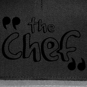 T-shirt BEST SELLER the chef - Casquette snapback