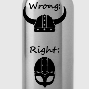 Wikinger - Wrong Right T-Shirts - Trinkflasche