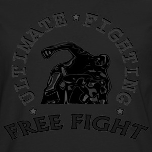 combattant au sol  free fight. Tee shirts - T-shirt manches longues Premium Homme