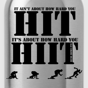 HIIT T-Shirts - Water Bottle