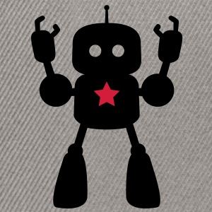 I Robot Star Tee shirts - Casquette snapback