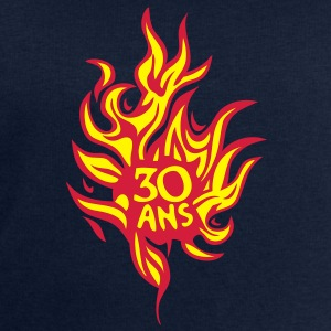 30 ans flamme feu brule anniversaire Tee shirts - Sweat-shirt Homme Stanley & Stella