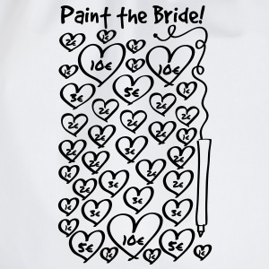 Paint to the bride - hen night T-Shirts - Drawstring Bag