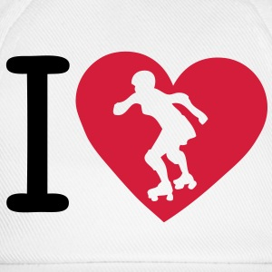 love roller derby coeur heart1 Tee shirts - Casquette classique