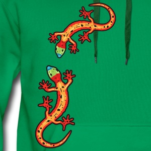 geckos colourful Shirts - Men's Premium Hoodie