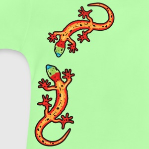 geckos colourful T-shirts - Baby T-shirt