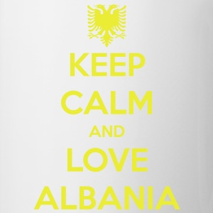 KEEP CALM AND LOVE ALBANIA Magliette - Tazza