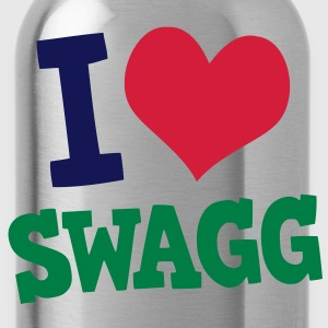 I love Swagg T-Shirts - Water Bottle
