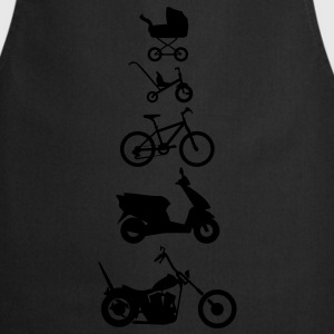 Motorcycle Chopper Evolution Front  T-Shirts - Cooking Apron