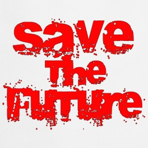 Save The Future - Red T-Shirts - Cooking Apron