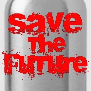 Save The Future - Red T-Shirts - Water Bottle
