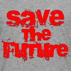Save The Future - Red T-Shirts - Men's Premium Longsleeve Shirt