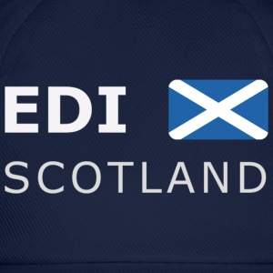 Classic T-Shirt EDI SCOTLAND white-lettered - Baseball Cap