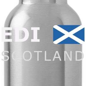 Classic T-Shirt EDI SCOTLAND white-lettered - Water Bottle
