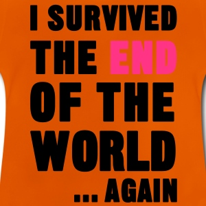 I Survived the End of the World T-Shirts - Baby T-Shirt